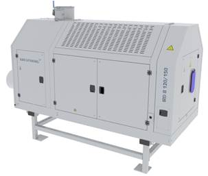 continuous infrared dryer